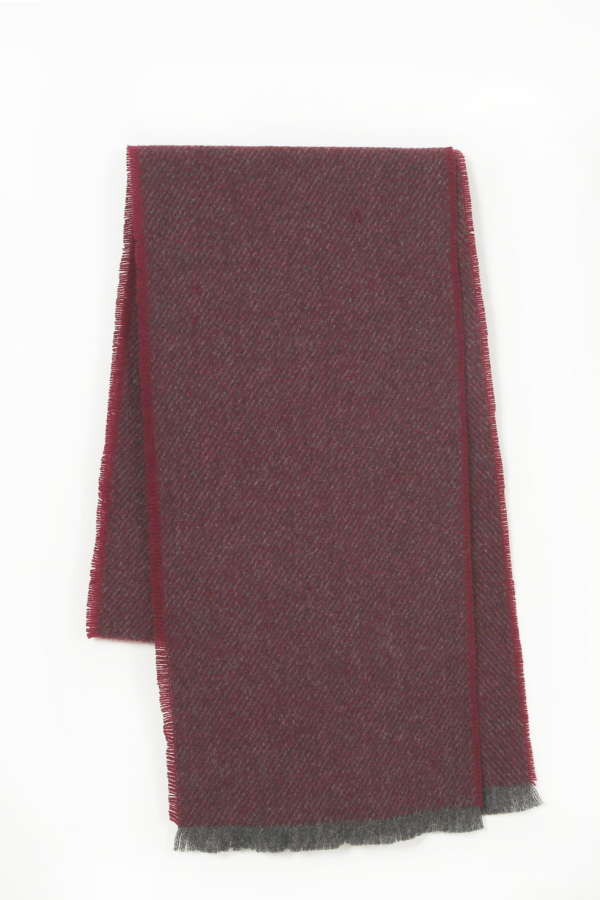 Wine Irish Scarf