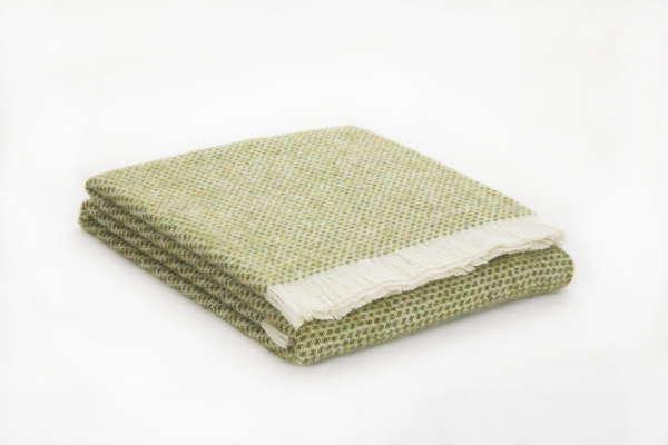 Green Kilkenny Wool Throw