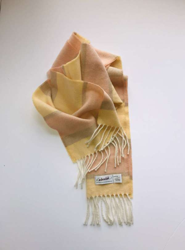 Cream Irish Wool Scarf