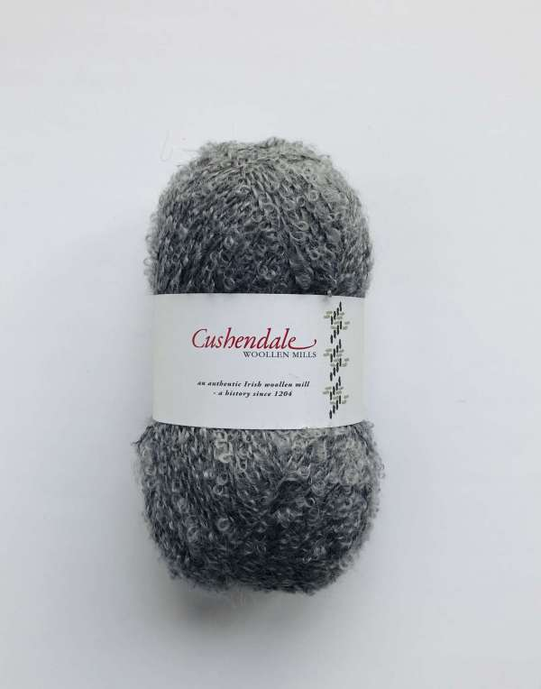 Grey Mohair Yarn