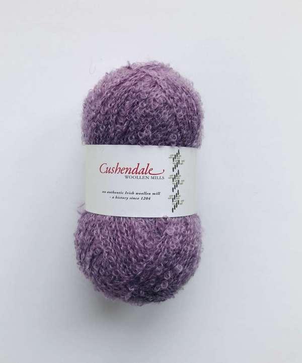 Mauve Purple Mohair Yarn