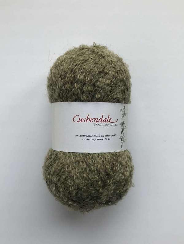 Olive Green Mohair Yarn
