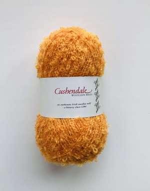 Orange Mohair Yarn