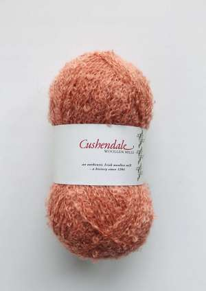 Salmon Pink Mohair Yarn