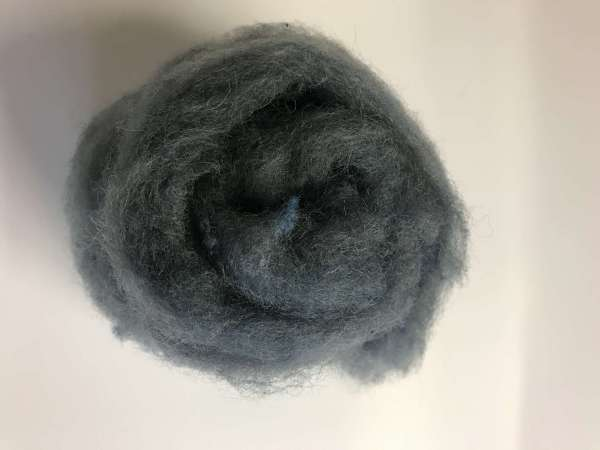 Grey Carded Wool
